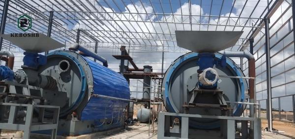 廢輪胎煉油設備廠家分享廢塑料煉油過程中的一些工序介紹