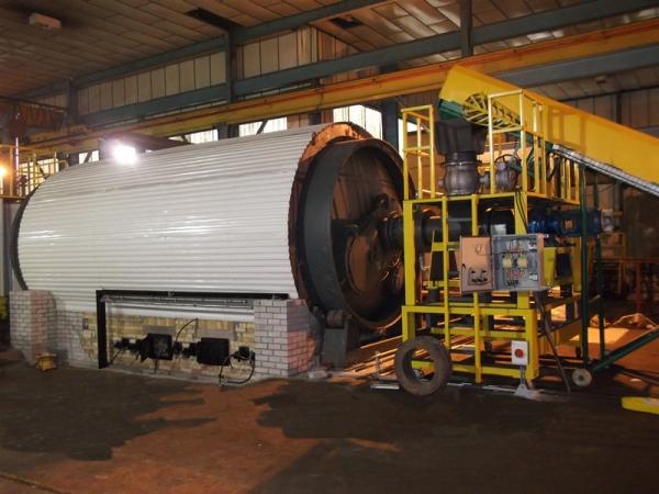 熱裂解技術煉油設備