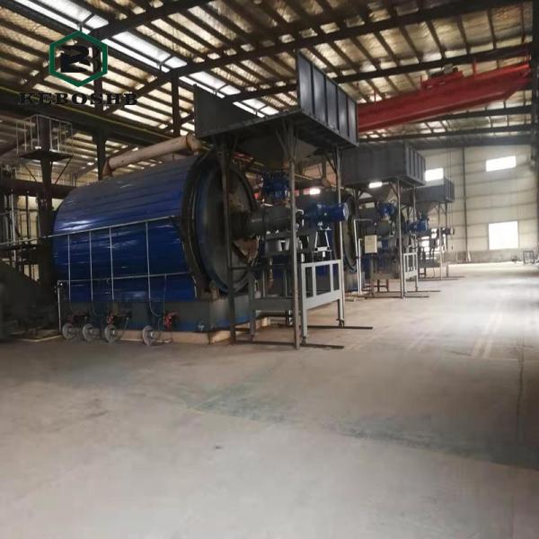 廢油泥干餾裂解設備
