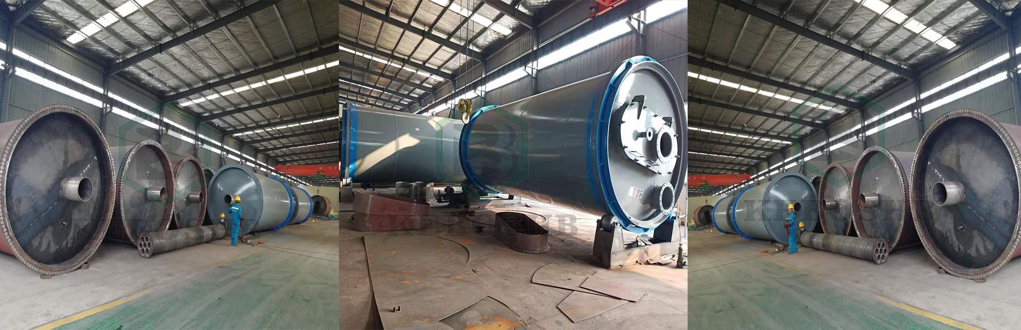 廢輪胎煉油設備